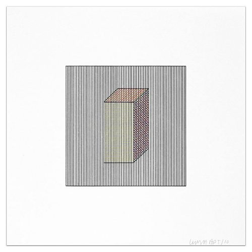 Plate #03 by Sol LeWitt at