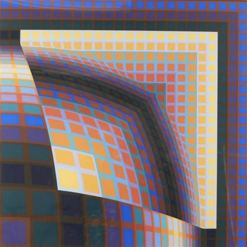 Titan by Victor Vasarely at