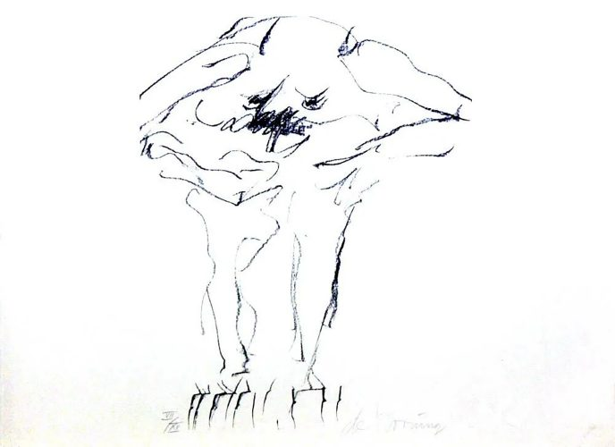 Clam Digger by Willem De Kooning at