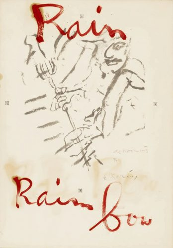 Untitled (Rainbow) by Willem De Kooning at