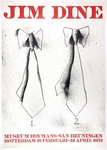 Boymans Museum (Two Ties) by Jim Dine at