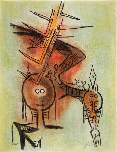 Belle Epine by Wifredo Lam at