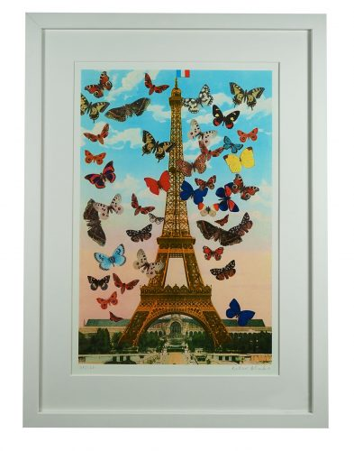 Eiffel Tower by Peter Blake at