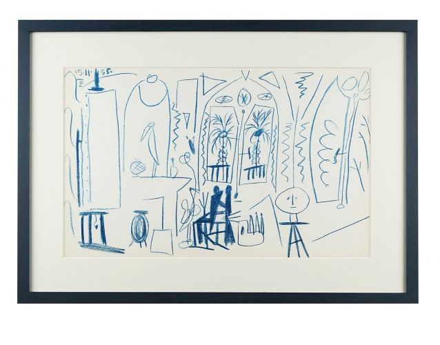 Carnet de Californie II by Pablo Picasso at