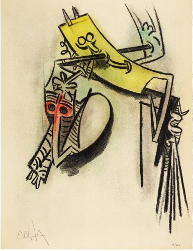 Montre des Seves by Wifredo Lam at