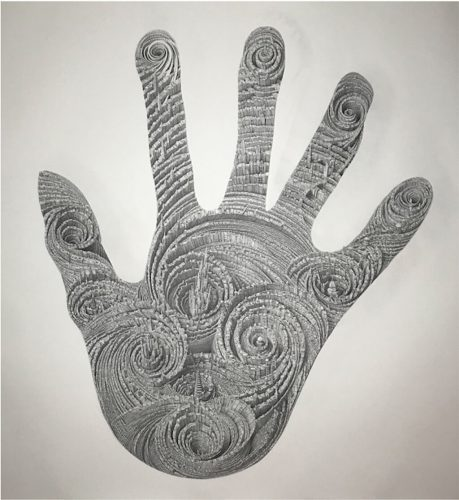 Untitled (Big Hand) by Ben Sack at