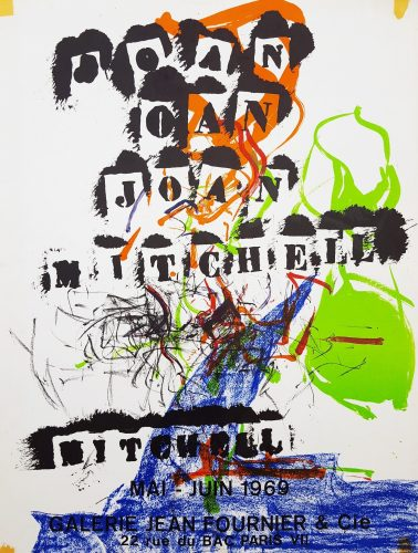 Galerie Jean Fournier & Cie (Untitled) by Joan Mitchell at Graves International Art