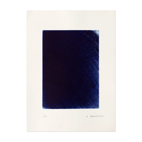 L'Heure Bleue by Arnulf Rainer at