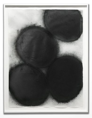 Black Eggs by Donald Sultan at