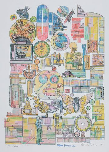 Where Reality Lies by Eduardo Paolozzi at