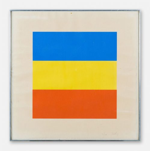 Red, Yellow, Blue by Ellsworth Kelly at