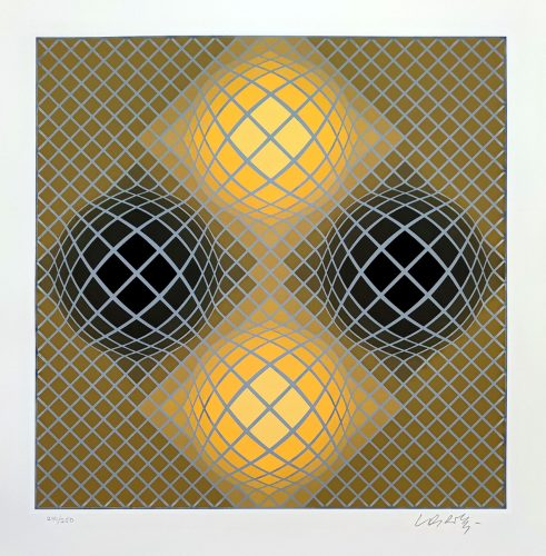 Olla by Victor Vasarely at