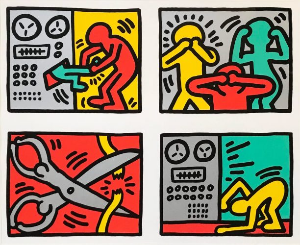 Pop Shop III by Keith Haring at
