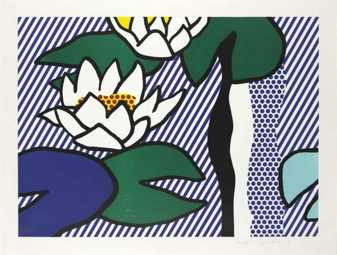 Les Nymphéas by Roy Lichtenstein at