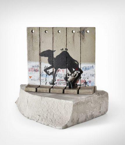 Walled Off Hotel – Wall Sculpture (Camel) by Banksy at