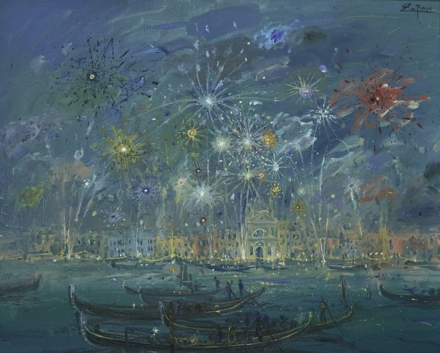 Fiesta of Redentore, Venice by Bruno Zupan at