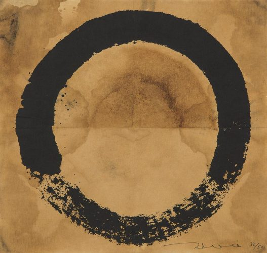 Coffee Zen, Enso: Black by Takashi Murakami at