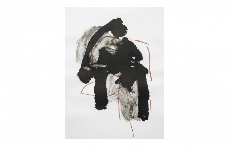 Calligraphy by Robert Motherwell at