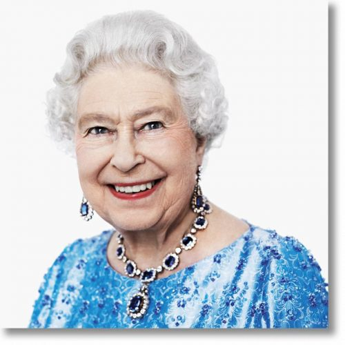 Her Majesty The Queen by David Bailey at