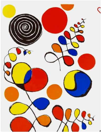 Floating Helix by Alexander Calder at