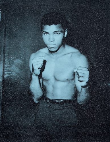 Ali by Russell Young at