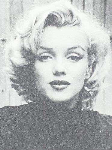Marilyn Hollywood by Russell Young at