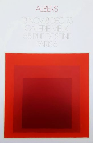Galerie Melki (Homage to the Square) by Josef Albers at