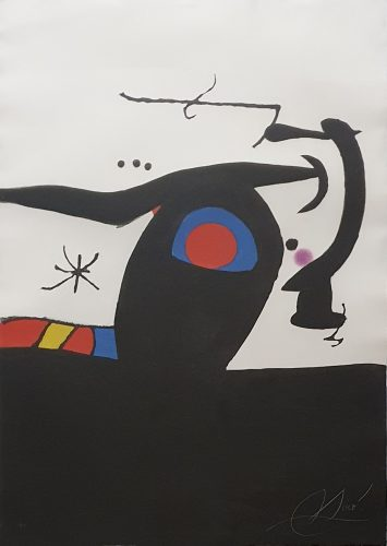 Le Tambour-Major by Joan Miro at