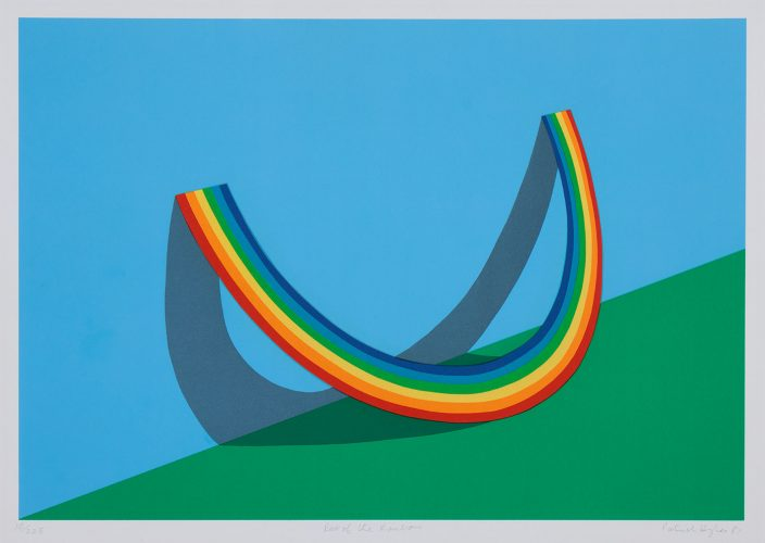 Rest of the Rainbow by Patrick Hughes at