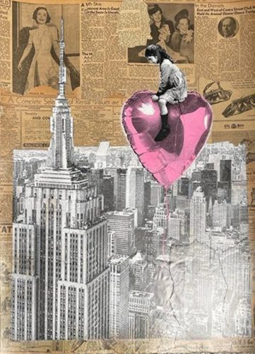 Big City Big Dreams by Mr. Brainwash at