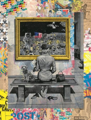 Hollymoon by Mr. Brainwash at