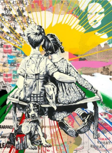 Work Well Together by Mr. Brainwash at