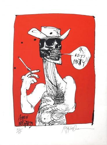 Let's Party. by Ralph Steadman at