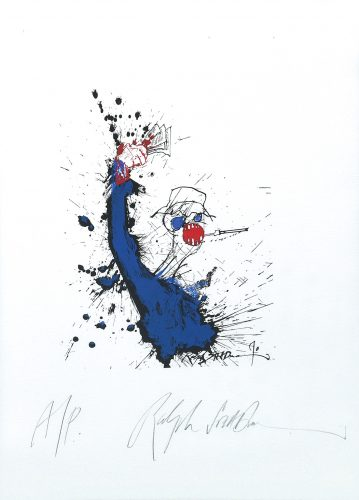 Lost Chapter. by Ralph Steadman at