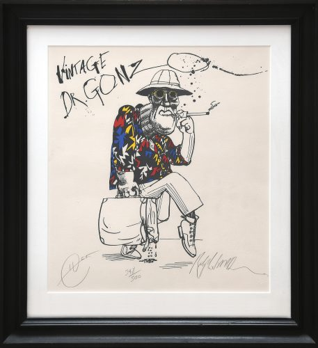Vintage Dr. Gonzo. by Ralph Steadman at