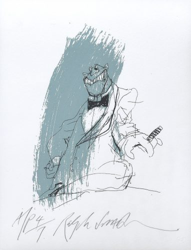 Lousy Lizard Man. by Ralph Steadman at