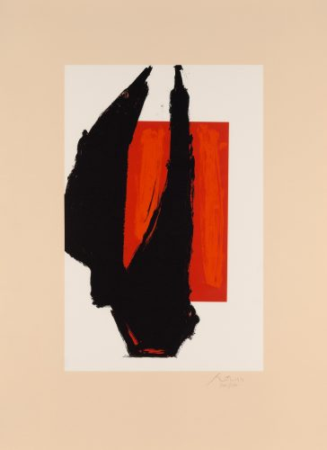 Art 1981 Chicago Print by Robert Motherwell at