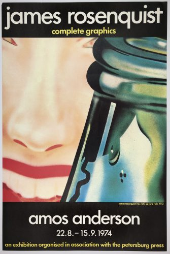 Amos Anderson (Hey! Let's Go for a Ride 1973) by James Rosenquist at