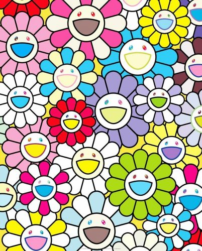 A Little Flower Painting II by Takashi Murakami at Michael Lisi/Contemporary Art