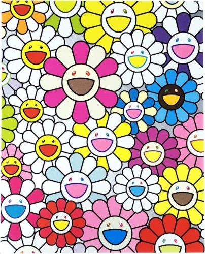 A Little Flower Painting I by Takashi Murakami at Michael Lisi/Contemporary Art