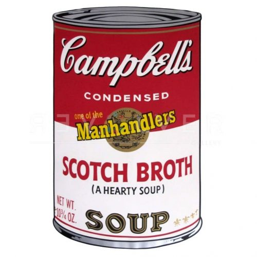 Scotch Broth Soup by Andy Warhol at Hidden