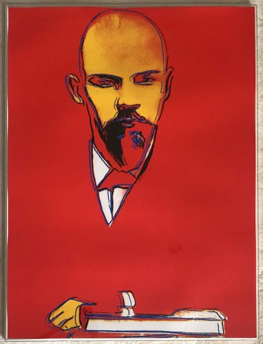 Red Lenin 1987 F&S II.403 by Andy Warhol at