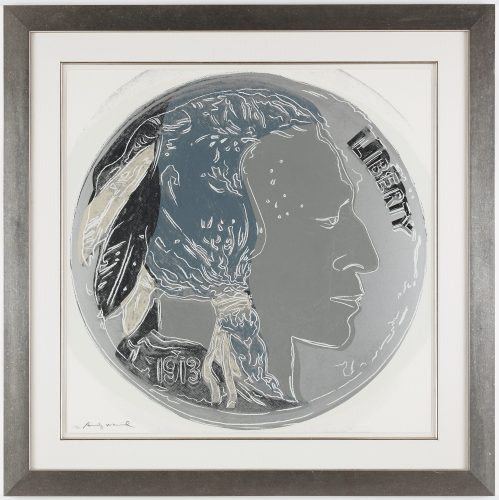 Indian Head Nickel 1986 F&S II.385 by Andy Warhol at