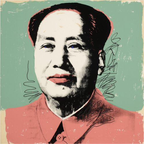 Mao 1972 F&S II.95 by Andy Warhol at