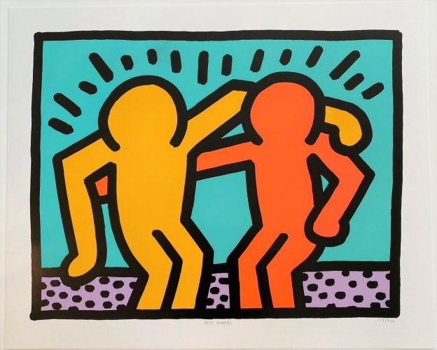 Best Buddies by Keith Haring at Hidden