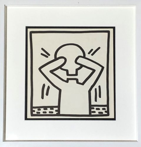 Untitled (Four Plates) by Keith Haring at