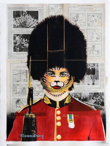 Changing The Guard (Tiger Face) by Crail Moansburg at Addicted Art Gallery