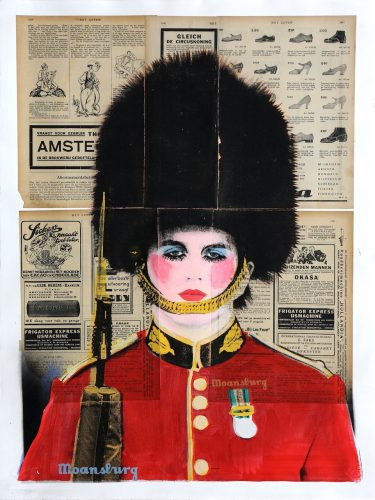 Changing The Guard (Glamour Face) by Crail Moansburg at Addicted Art Gallery