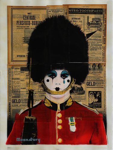 Changing The Guard (Pierrot Face) by Crail Moansburg at Addicted Art Gallery