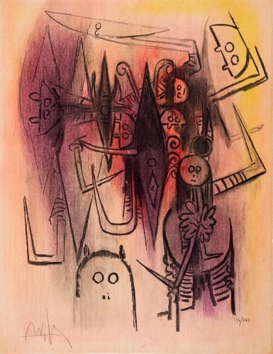 Clairiere by Wifredo Lam at